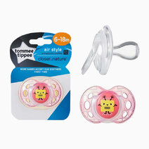Closer to Nature Air Soother (6-18 Months) by Tommee Tippee