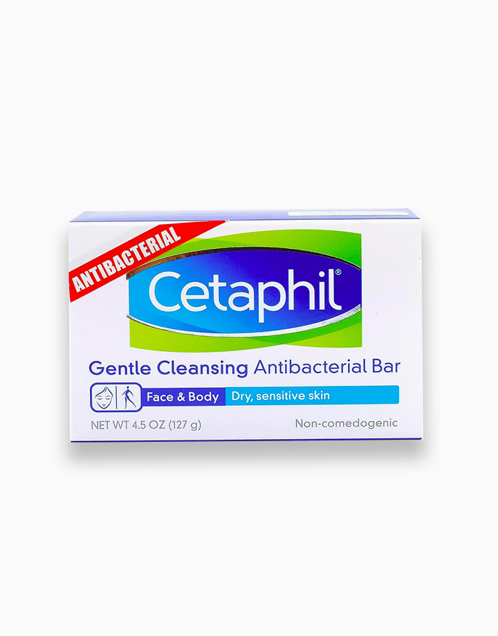 Cetaphil Gentle Cleansing Antibacterial Bar (127g) by Cetaphil