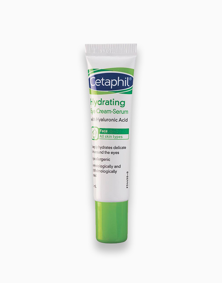 Face Hydrating Eye Cream-Serum with Hyaluronic Acid (14ml) by Cetaphil