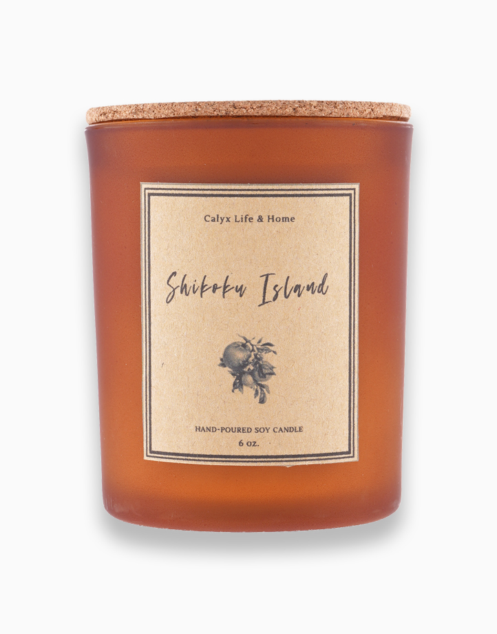 Shikoku Island Soy Candle: Travel Collection (6oz) by Calyx Life & Home