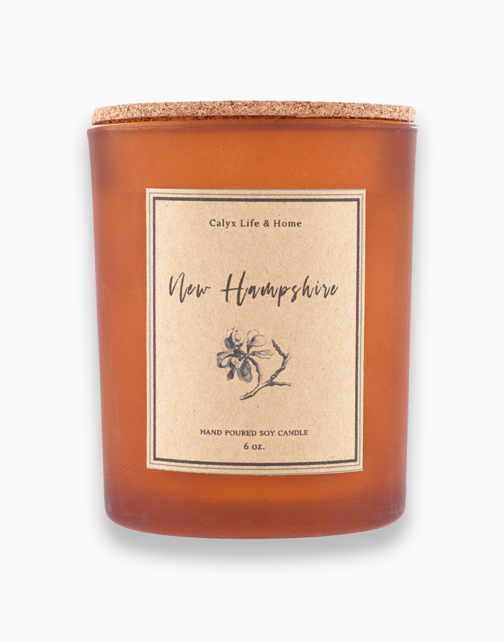 New Hampshire Soy Candle: Travel Collection (6oz) by Calyx Life & Home