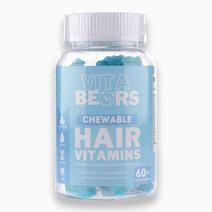 Hair Vitamin Gummies with Biotin, Inositol and Vitamin B12 by VitaBears