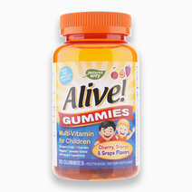 Alive! Gummies, Multi-Vitamin for Children (90cts) by Nature's Way