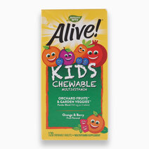 Alive! Kid's Chewable Multivitamin, (120 Tabs) by Nature's Way