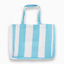 Stripe Inabel Carry All Tote Bag by The Flow Shop