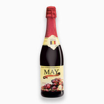 100% Sparkling Red Grape Juice (750mL) by May Sparkling Juice