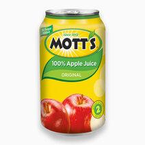 100% Apple Juice 11.5oz (340ml) by Mott's