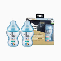 Closer to Nature PP Bottles Tinted (9oz/260ml) - Pack of 2 by Tommee Tippee