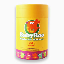 Baby Roo Washable Markers (24 Colors) by Joan Miro