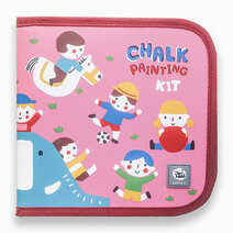 Chalk-A-Doodle Book - Happy Kindergarten by Joan Miro