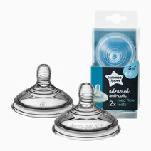 Closer to Nature Advanced Anti Colic Medium Flow Nipple Teats by Tommee Tippee