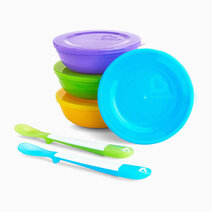 Love A Bowl (Pack of 4) by Munchkin