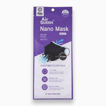 Nanofiber Filter Mask (Black) - 1 pc. by AirQueen