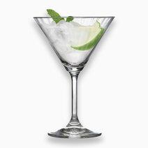 Gusto 6-Piece Martini Crystalline Glass Stemware 9 1/2oz by Lav