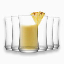 Lune 6-Piece Highball Glass Tumbler 12 1/4oz by Lav