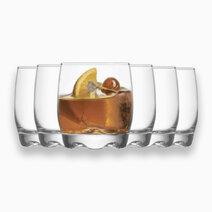 Adora 6-Piece Rock Glass Tumbler Set (9 1/2 oz) by Lav