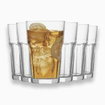 Aras 6-Piece Highball Glass Tumbler (12 1/4 oz) by Lav