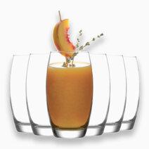 Empire 6-Piece Highball Glass Tumbler (17 1/4 oz) by Lav