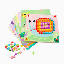 Pattern Pegs - Small by Tooky Toy