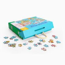 World Map Puzzle by Tookyland