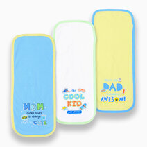 3-Piece Burpcloth (Silly Sayings) by Cotton Stuff