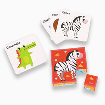 Animal Block Puzzle by Tooky Toy