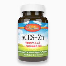 ACES + Zn - Vitamin A, C, E, Selenium and Zinc (120 Soft Gels) by Carlson