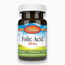 Folic Acid 400 mcg (300 Tablets) by Carlson