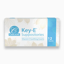 Key-E Suppositories (Box of 12) by Carlson