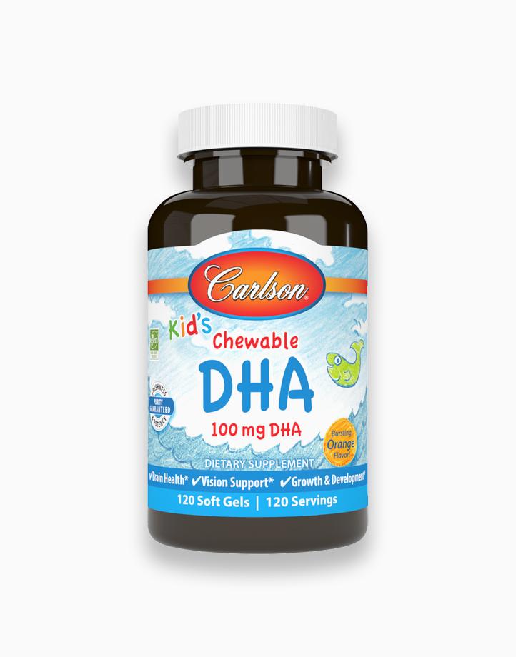 Kid's Chewable DHA 100 mg Orange Flavor (120 Soft Gels) by Carlson