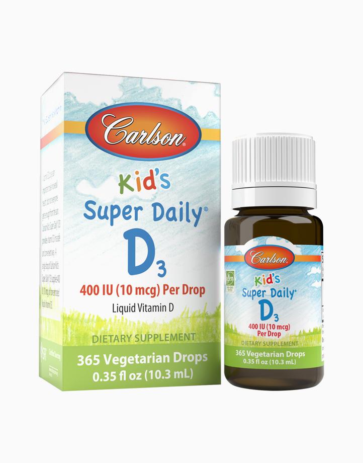 Kid's Super Daily D3 400 IU (10 mcg) 10.3 ml (365 Drops) by Carlson