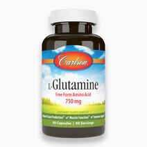 L-Glutamine 750 mg (90 Capsules) by Carlson