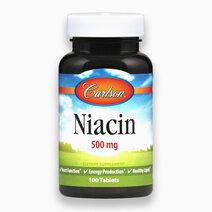 Niacin 500 mg (100 Tablets) by Carlson