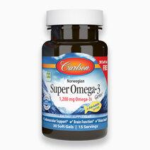 Super Omega-3 Gems (30 Fish Gelatin Softgels) by Carlson