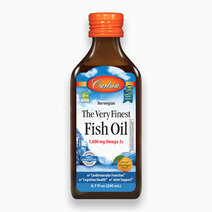 The Very Finest Fish Oil (Orange Flavor) 200 ml by Carlson