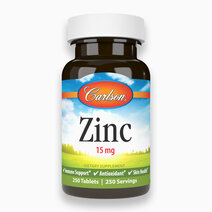 Zinc Tablets (15 mg) 250 Tablets by Carlson