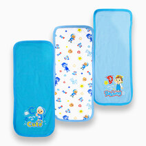 Cocomelon - 3-piece Burpcloth (Sing with Me) by Cotton Stuff