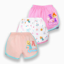 Cocomelon - 3-piece Girly Shorts (Sing with Me) by Cotton Stuff