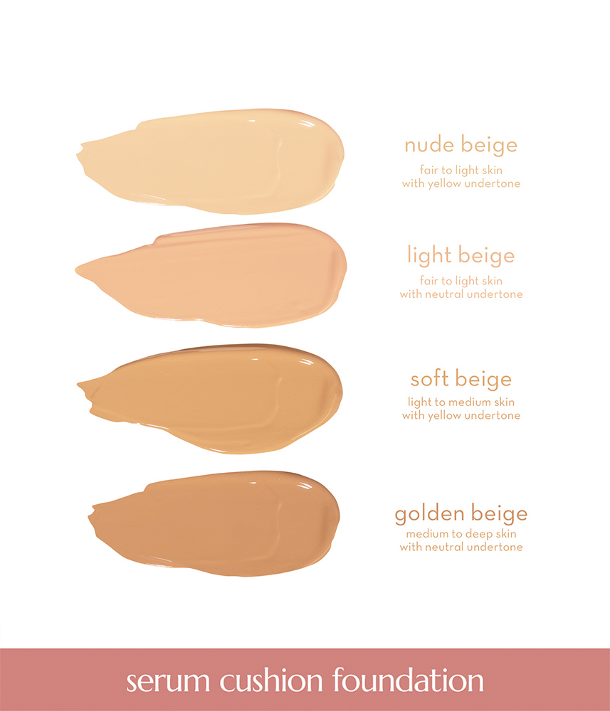 Second Skin Serum Cushion Foundation by Happy Skin   Nude Beige