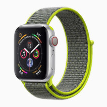 FIBRO-38 Sporty Nylon Mesh Adjustable Strap (No Buckle Design for Apple Watch 1, 2, 3 & 4. 38mm) by Promate