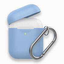 GRIPCASE Slim Silicone case with Carabiner Hook (for Apple Airpods) by Promate