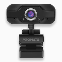 PROCAM-1 USB2.0 Web Camera With Mic (1080p HD, 120Degree Wide Angle) by Promate