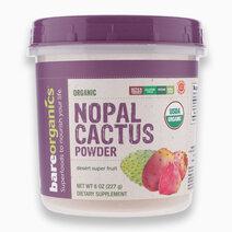 Raw Organic Nopal Cactus Powder (227g) by BareOrganics