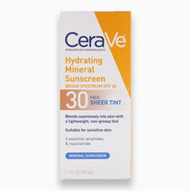 Hydrating Mineral Sunscreen SPF 30 Face Sheer Tint by CeraVe