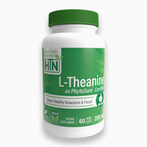 L-Theanine as PhytoSure (200mg, 60s) by Health Thru Nutrition