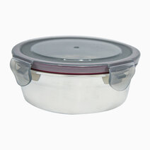 Round Stainless Steel Food Container (350ml) by Masflex