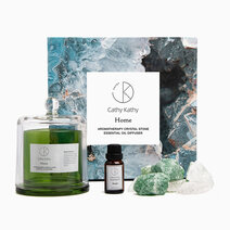 Green Fluorite Crystal Stone Diffuser w/ Ocean Scent Essential Oil by CathyKathy PH