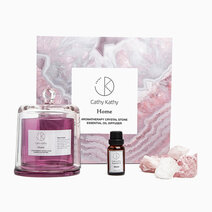 Rose Quartz Crystal Stone Diffuser with Bloom Scent Essential Oil by CathyKathy PH