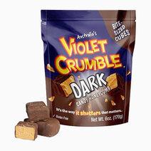 Violet Crumble Cubes Dark (170g) by Candy Corner