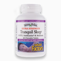 Stress-Relax, Tranquil Sleep Extra Strength, 60 Chewable Tablets by Natural Factors